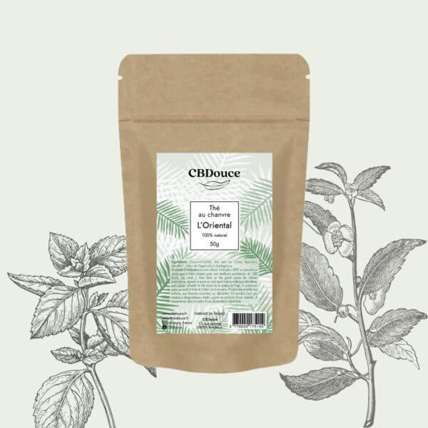 thé vert chanvre menthe